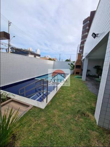 Apartamento com 3 quartos para alugar, 64 m² por R$ 1.800/mês - Casa Caiada - Olinda/PE - Foto 2