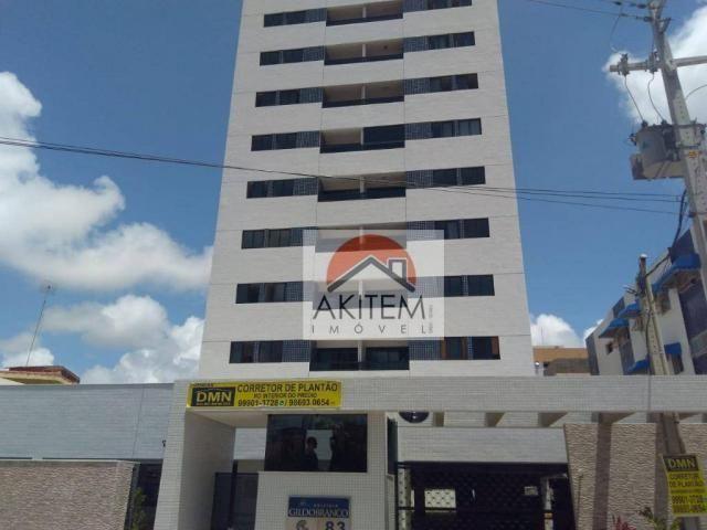 Apartamento com 3 quartos para alugar, 64 m² por R$ 1.800/mês - Casa Caiada - Olinda/PE