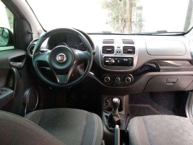 Fiat Palio 1.0 Attractive 8V Flex 4Ptas - Foto 13