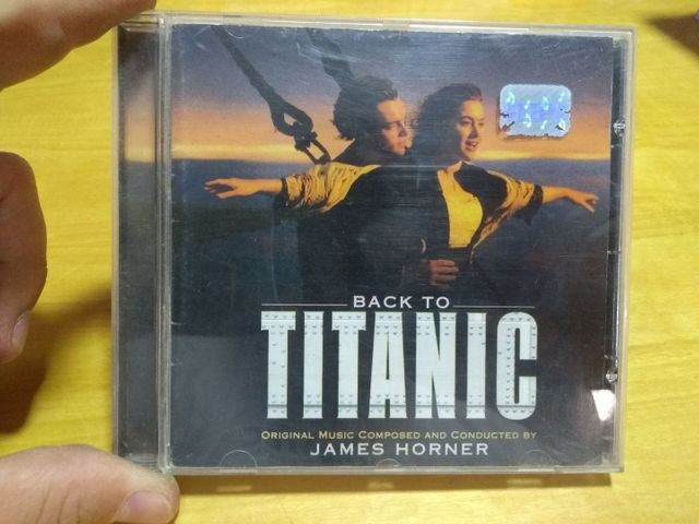 CD Titanic original - Foto 2