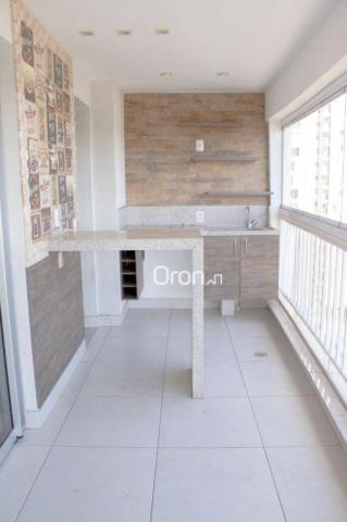 Apartamento à venda, 88 m² por R$ 445.000,00 - Jardim Goiás - Goiânia/GO - Foto 3