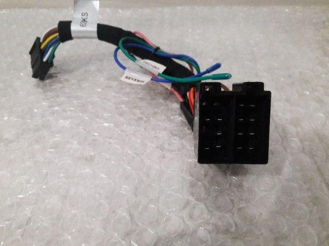 Chicote Plug Central Multimídia Universal M1 One/logigo/axis - Foto 2