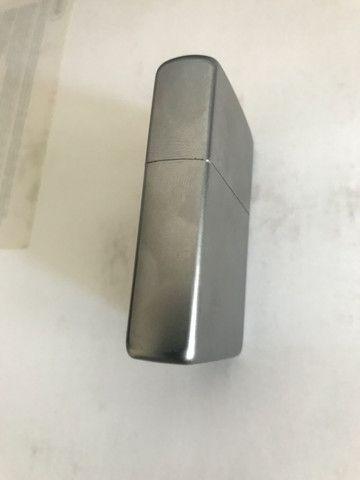 Zippo Original em aço escovado novinho - Foto 2