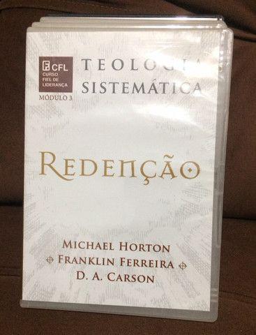 Coleção de dvd?s de estudos teologia sistemática (editora fiel) - Foto 3