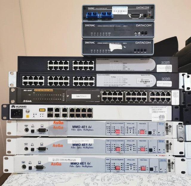 Equipamentos de Redes - Switches, Modems e conversores - Foto 2