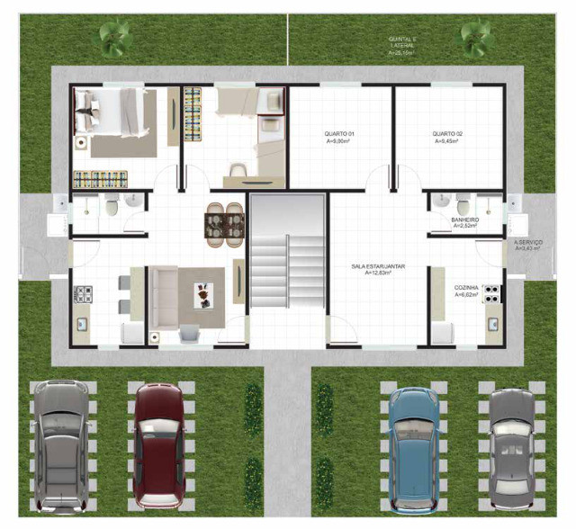 56||Plaza das Flores 3||Apartamentos para entrega em Junho!! - Foto 3