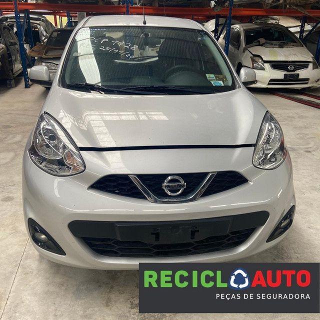 Sucata de Nissan march 2019 3cc para retirada de peças  - Foto 3
