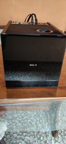 Philips HTS8100 Soundbar com Subwoofer SW8100/59 (não liga)