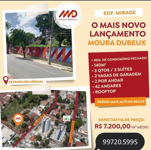 M.S  More no mais Alto em Casa Forte - Moura Dubeux - Edf. Mirage