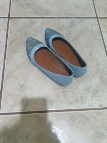 Sapatilha azul 37  - Foto 3