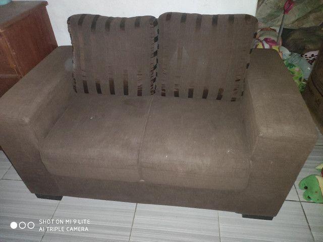 Vendo sofá dois e três lugares