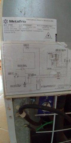 Freezer e Conservador Vertical Dupla Ação 539 litros VF55D Metalfrio 220V - Foto 5