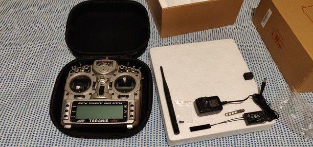 Rádio Frsky X9D Plus em estado de novo - Foto 4