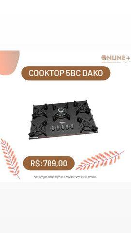 Cooktop 5 bocas dako