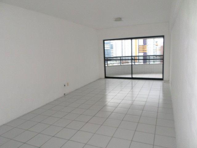 AL16 Apartamento 3 Quartos, 2 Suítes+Dependência, Varanda, 4 Wc, 2 Vagas, 100m² Boa Viagem