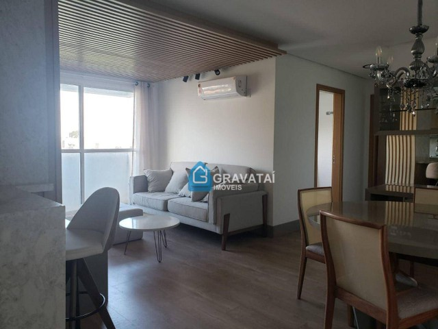Apartamento com 2 dormitórios para alugar, 85 m² por R$ 2.200/ano - Centro - Gravataí/RS - Foto 3