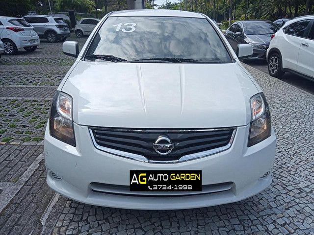 Nissan Sentra 2013 2.0 mec.branco(lindo!)completo+gnv+revisado+novíssimo!! - Foto 3