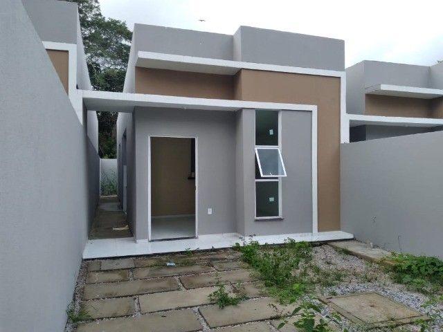 Lindas Casas Com Dois Quartos E Documentação Grátis! - Foto 2