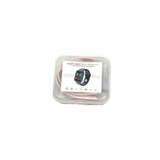 Novo Relógio Smartwatch D20 Pro Batimento Cardiaco Compatível com Android Ios - Foto 2