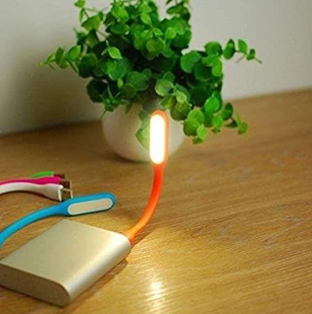 NOVO* Mini Lâmpada De Led Com Entrada Usb Flexível Portátil - Foto 2