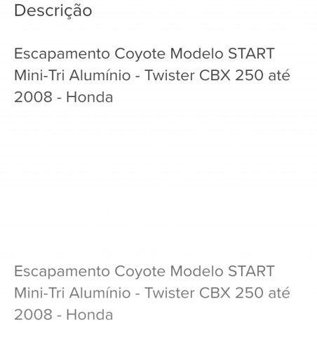 Coyote start mini tri oval para Twister até 2008 - Foto 2