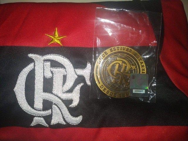Camisa do Flamengo + Medalha