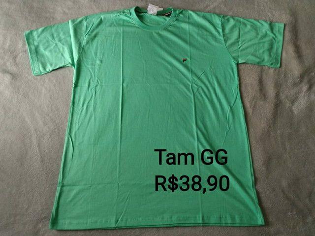 Camisetas Novas - Foto 5