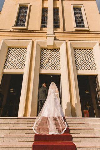 Vendo Vestido de Noiva - Foto 6