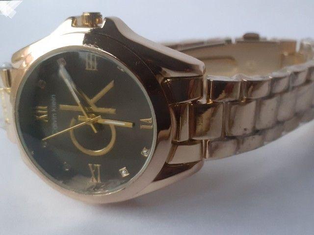 Relógio feminino analógico C.K  - Foto 6