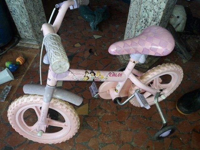 Bike Infantil Princesas - Foto 3