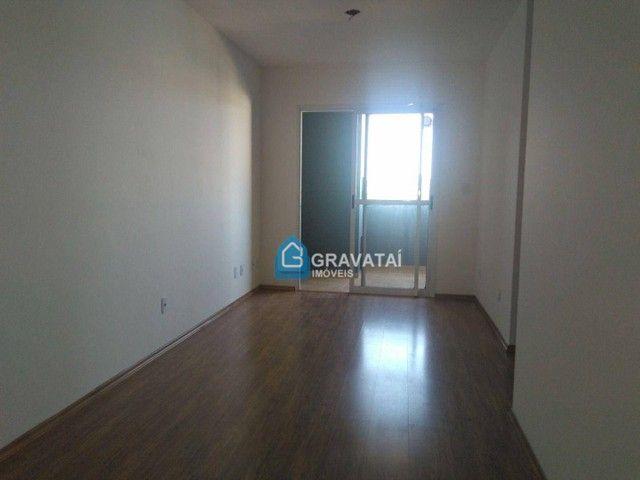 Apartamento com 2 dormitórios para alugar, 62 m² por R$ 1.120,00/mês - Monte Belo - Gravat - Foto 3