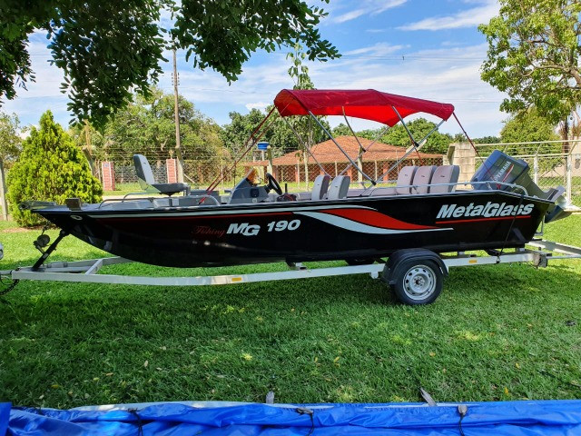 Lancha MG 190 Fishing 90hp Yamaha 2010