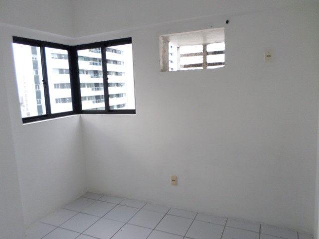 AL16 Apartamento 3 Quartos, 2 Suítes+Dependência, Varanda, 4 Wc, 2 Vagas, 100m² Boa Viagem - Foto 6