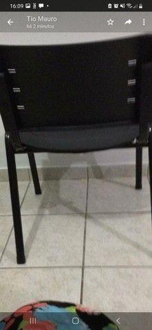 Cadeiras ideal  para escritórios, salão  de beleza.  - Foto 3