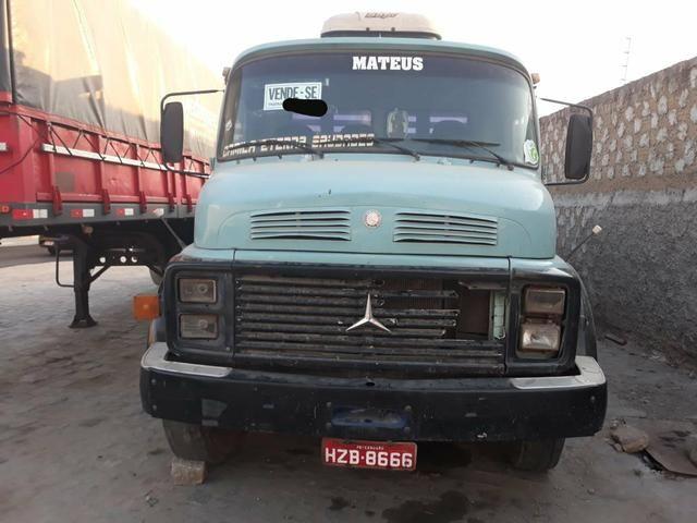 Caminhão Mb 1318 ano 89