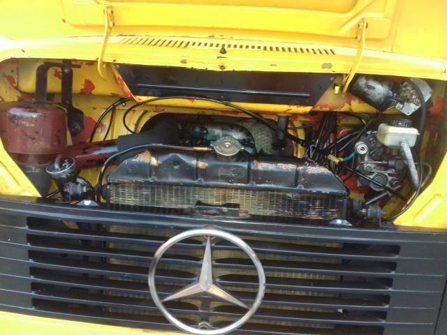 Caminhão Baú MB 608 Conservadíssimo