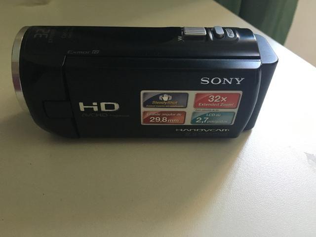 Filmadora Sony handycam HD