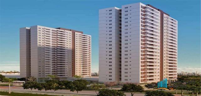 Apartamento residencial à venda, Presidente Kennedy, Fortaleza - AP2141.
