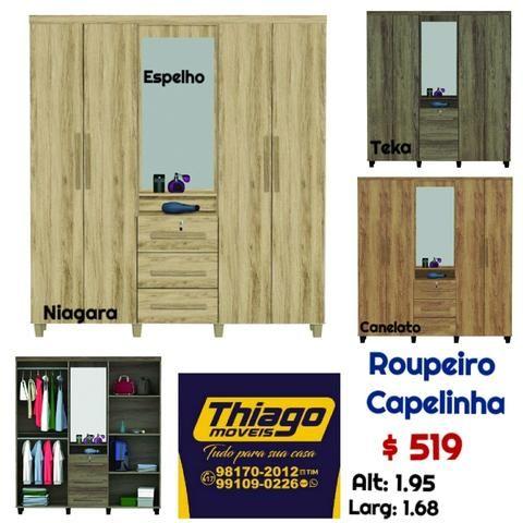 Roupeiros (entrega e montagem) - Foto 5