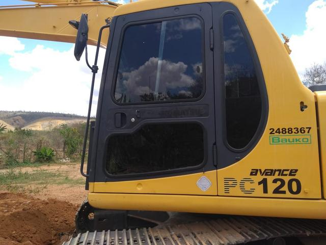 Escavadeira Pc 20 120 9.000 horas - Foto 4