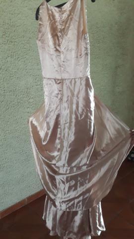 Vestido sereia no paetê bordado - Foto 6
