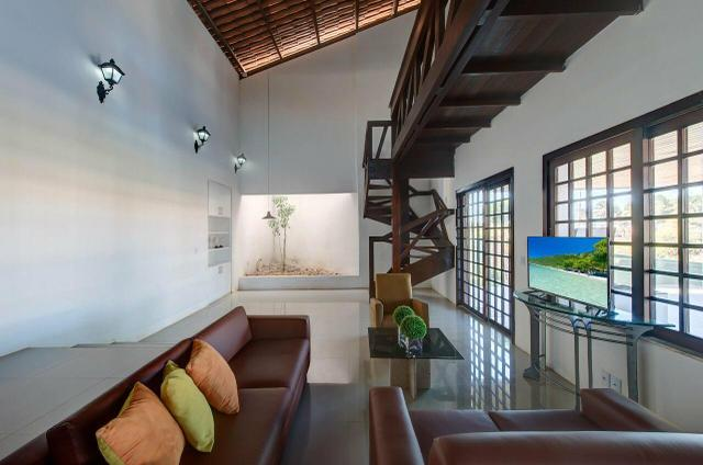 Linda mansão duplex, mobiliada, no porto das dunas - Foto 20