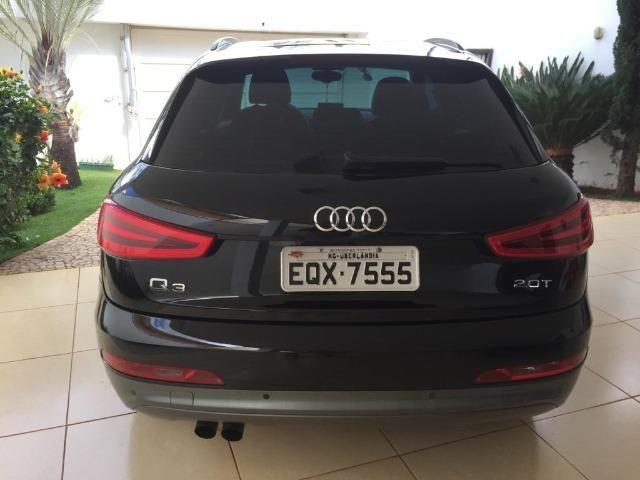 Audi Q3 2.0T Top com teto (Aceito trocas) - Foto 5