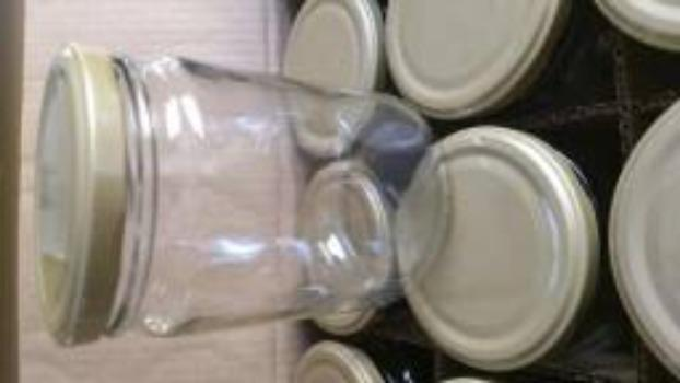 Potes de vidro de 500 ml - Compotas, bolos, geleias, saladas, etc