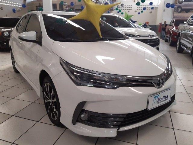 Toyota corolla 2.0 aut. Flex entrada de 7.000,00