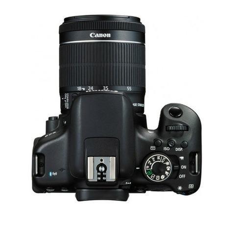Camera Canon Eos T6I 18-55MM F/3.5-5.6 Is STM Preto - Foto 4