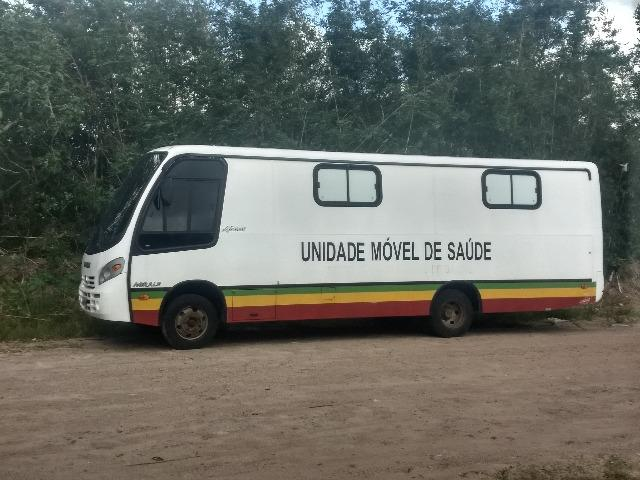 Micro onibus motor home unidade movel - Foto 11