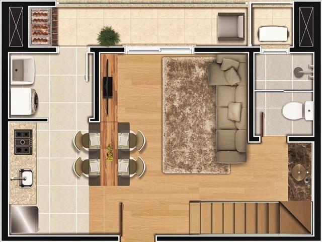 Apartamento à venda com 2 dormitórios em América, Joinville cod:8810 - Foto 14