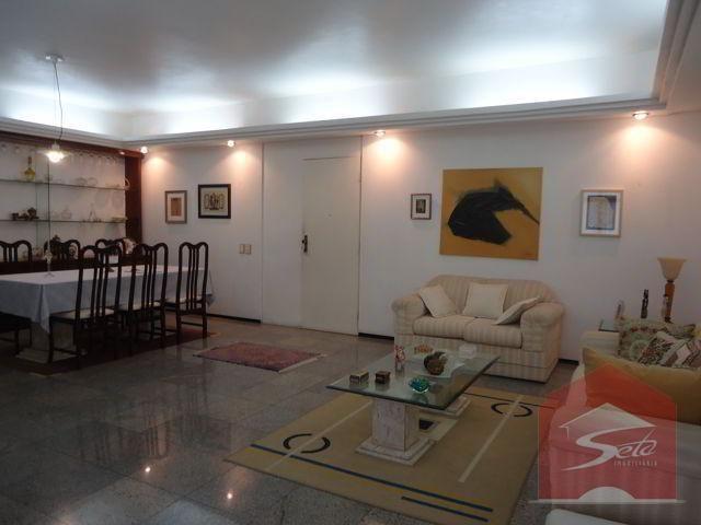 Apto 162m², 3 stes, sala 3 amb., dce, 2 vgs, à venda, meireles - Foto 8