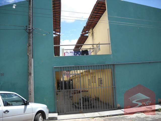 Apartamento c/ 2 dormitórios para alugar, 40 m², r$ 400/mês, serrinha.